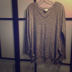 Anthropologie V neck sweater S